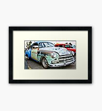 Classic American Hot Rod Framed Print