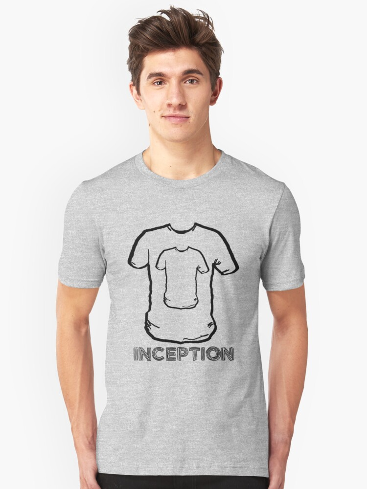 INCEPTION - Three levels down Unisex T-Shirt Front
