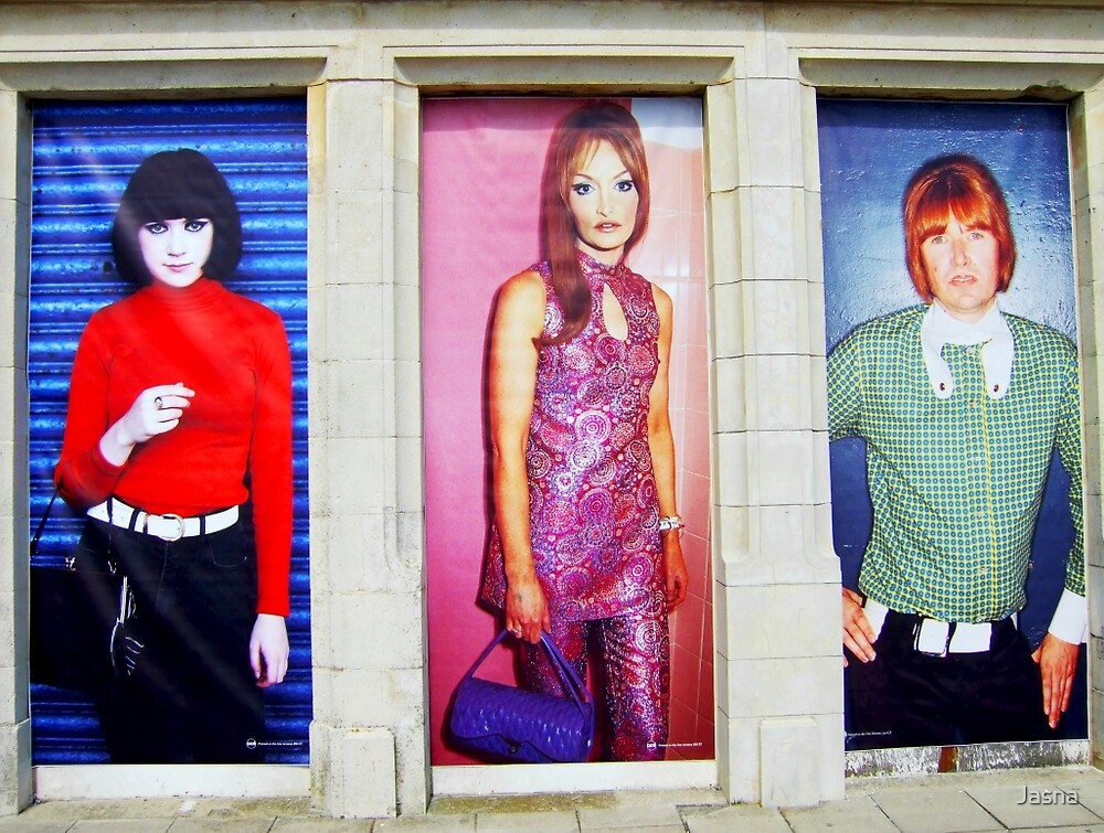Mod fashion posters by Jasna