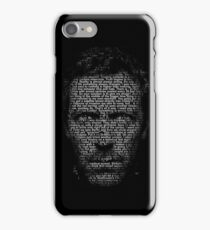 House MD made with text iPhone Case/Skin