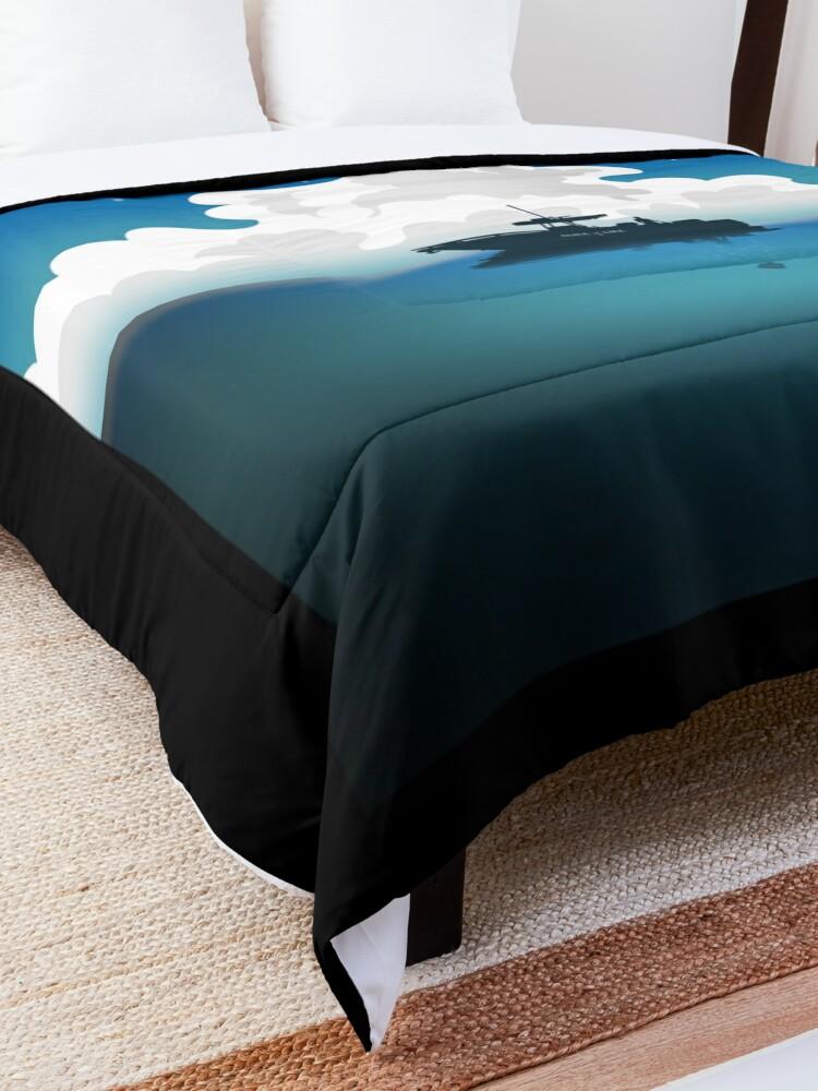 Alternate view of Slice of Life Comforter