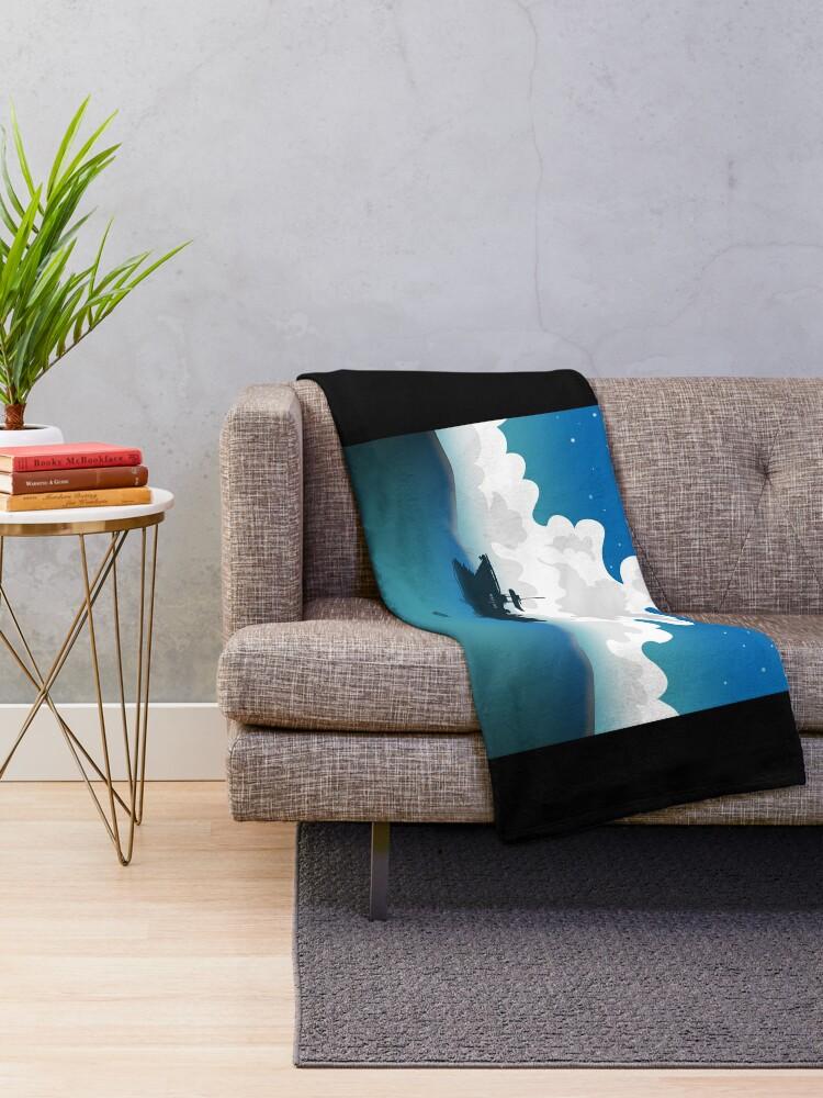 Alternate view of Slice of Life Throw Blanket