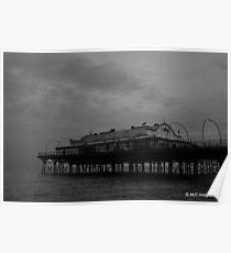 Cleethorpes Pier, UK.  Poster