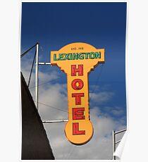 Route 66 - Lexington Hotel Poster