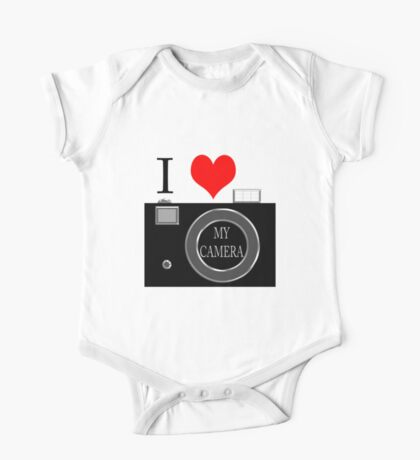 I love my camera Kids Clothes
