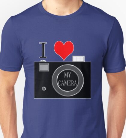 I love my camera T-Shirt