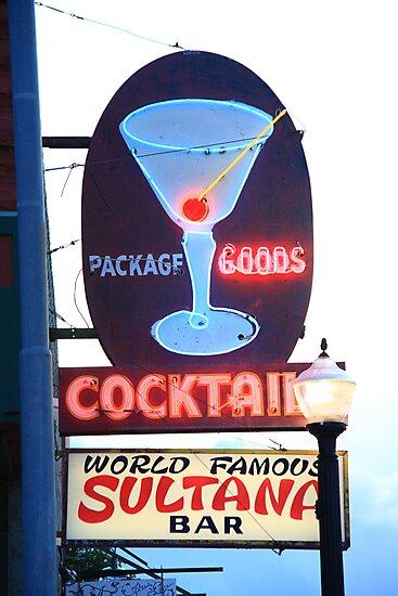 Route 66 - Williams, Arizona Bar by Frank Romeo