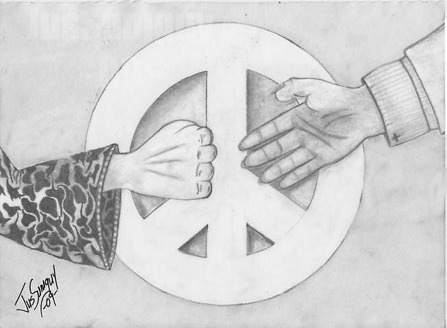 Open hand by JusSumguy