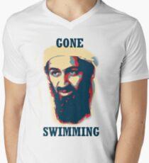 Gone Swimming! Men's V-Neck T-Shirt
