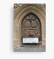 Bath Abbey, Bath, UK Canvas Print