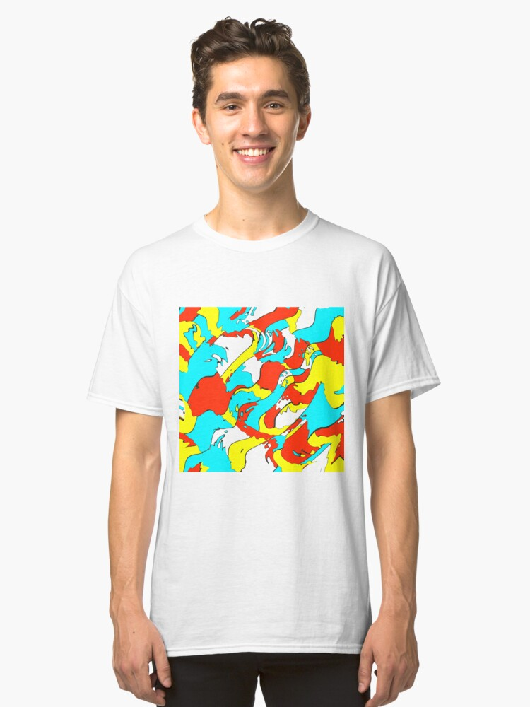 Alternate view of Party camouflage Classic T-Shirt