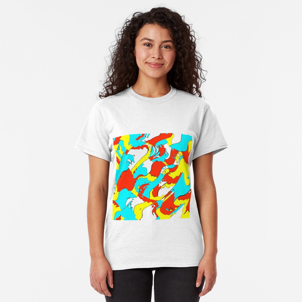 Party camouflage Classic T-Shirt