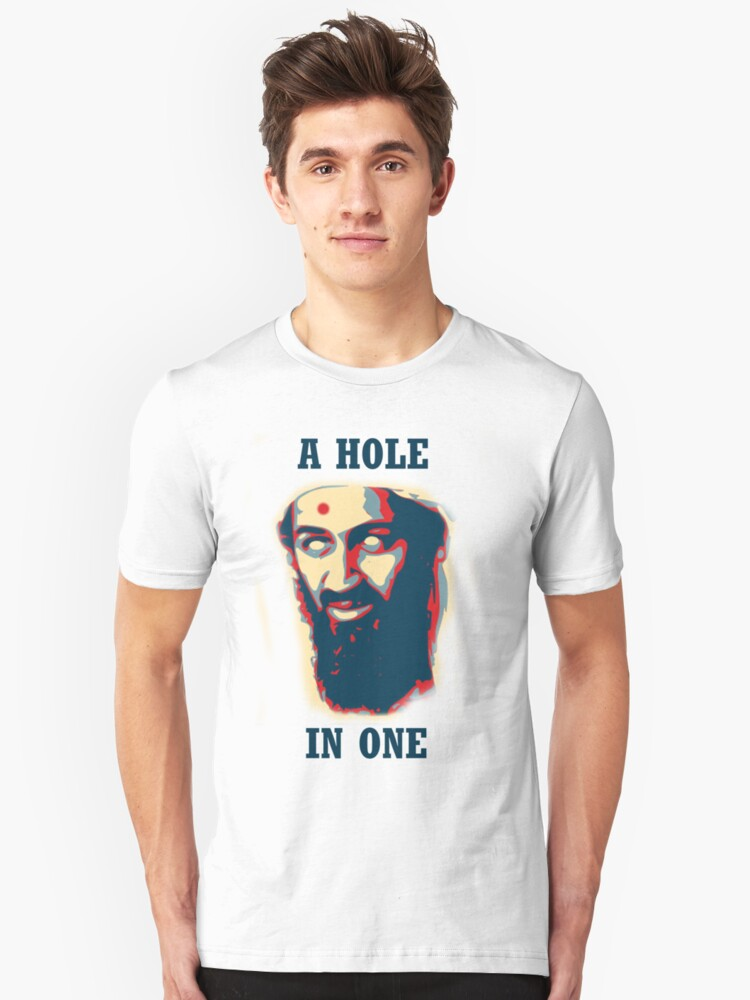 A Hole In One! Unisex T-Shirt Front