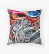 The Bike - Bellevue Community College Throw Pillow