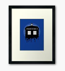 Time drip Framed Print