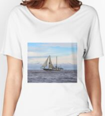 Pirate Ship in the Galapagos Islands Women's Relaxed Fit T-Shirt