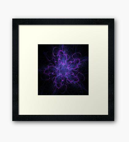 Confetti Star Framed Print