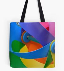 Rainbow Whirlybird Tote Bag