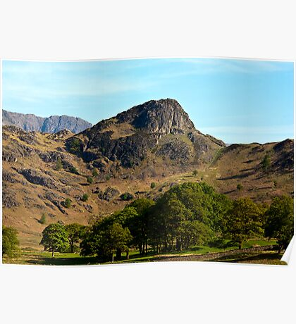 Side Pike from Blea Tarn - Lake District Poster