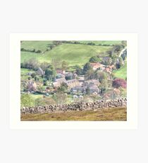 Rosedale Abbey Art Print