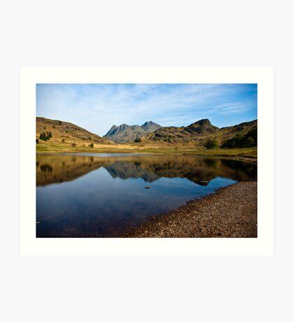 Blea Tarn - Lake District (May) Art Print