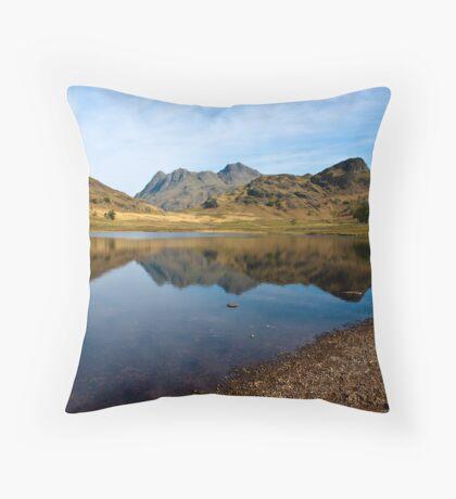 Blea Tarn - Lake District (May) Throw Pillow