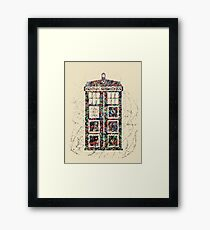 Police Box  Framed Print