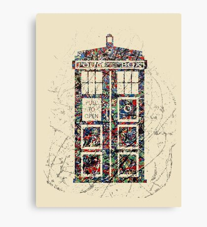 Police Box  Canvas Print