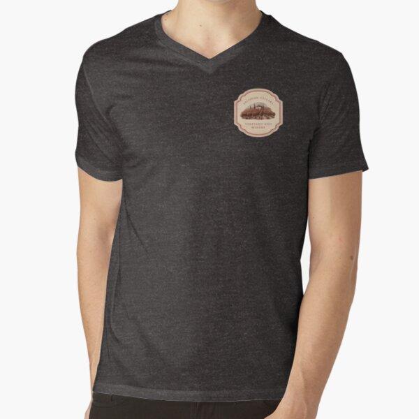 Salishan Cellars V-Neck T-Shirt