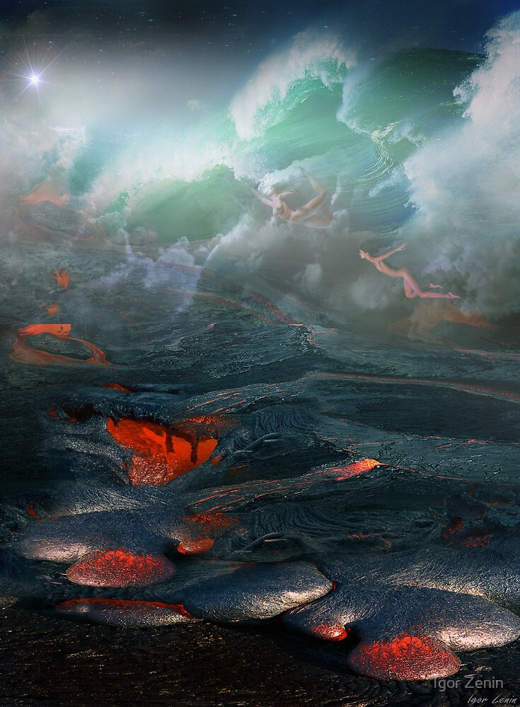 Clash Of The Elements by Igor Zenin