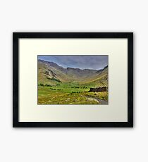The Valley - Lake District Framed Print