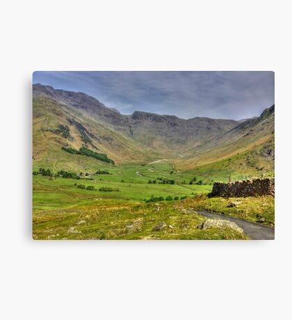 The Valley - Lake District Canvas Print