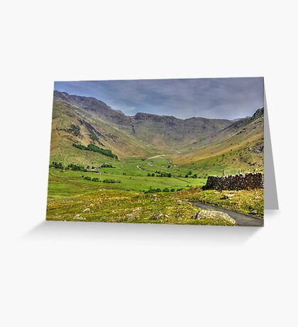The Valley - Lake District Greeting Card