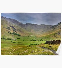 The Valley - Lake District Poster
