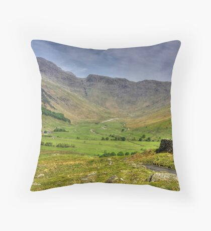 The Valley - Lake District Throw Pillow