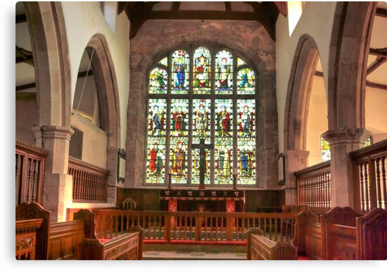 The Altar Window by Trevor Kersley