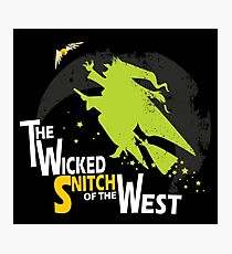 The Wicked Snitch of the West - Dark Photographic Print