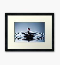 Blood of Water Framed Print