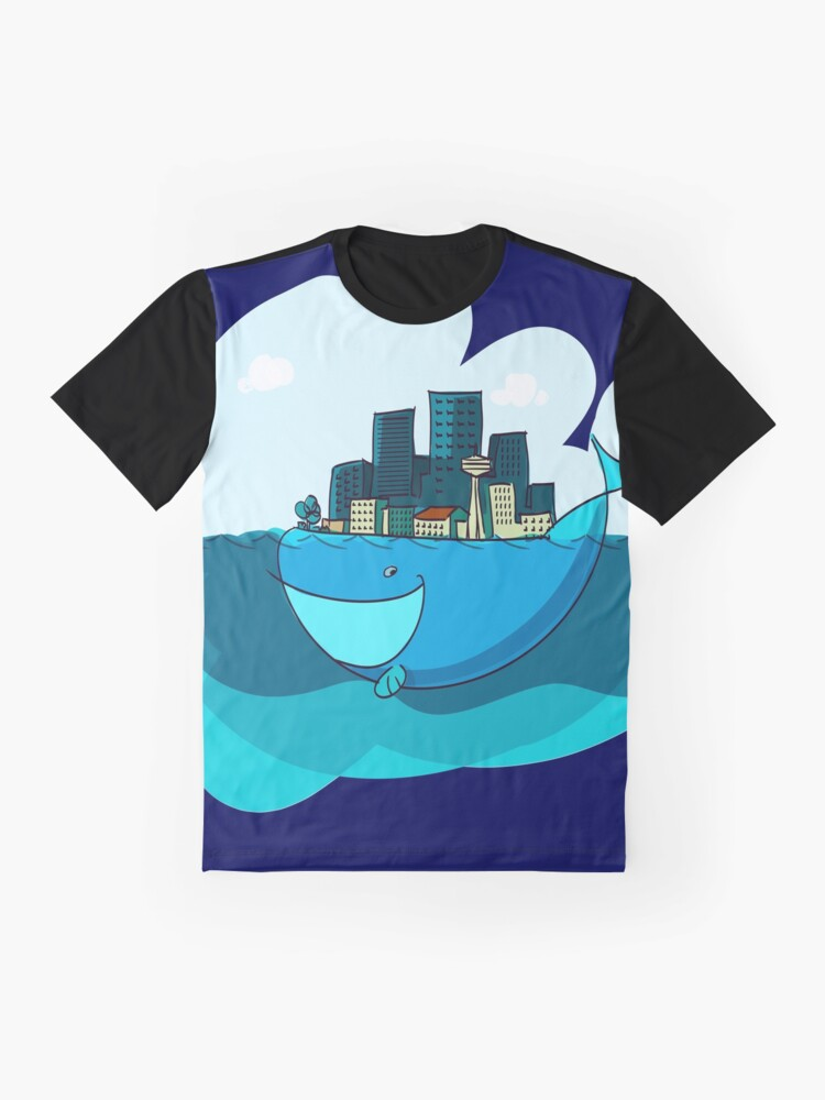Alternate view of Whale City Graphic T-Shirt