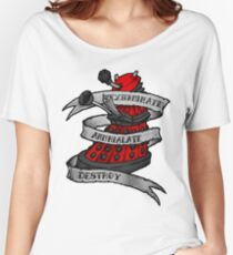 Red Dalek Women's Relaxed Fit T-Shirt