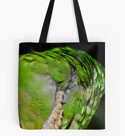 Feather Scratch Tote Bag