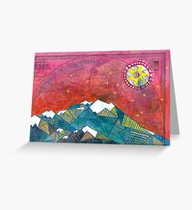 The Edge of the Sky Greeting Card