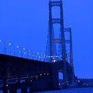 Mackinac bridge by snehit