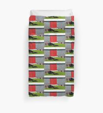 Barn with the Red Doors Duvet Cover