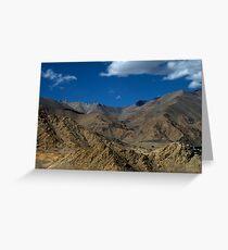 Golden Landscapes - Ladakh Greeting Card