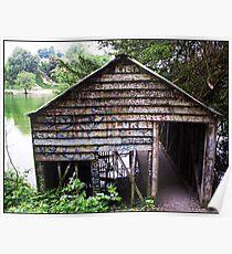 Arundel Boathouse Poster