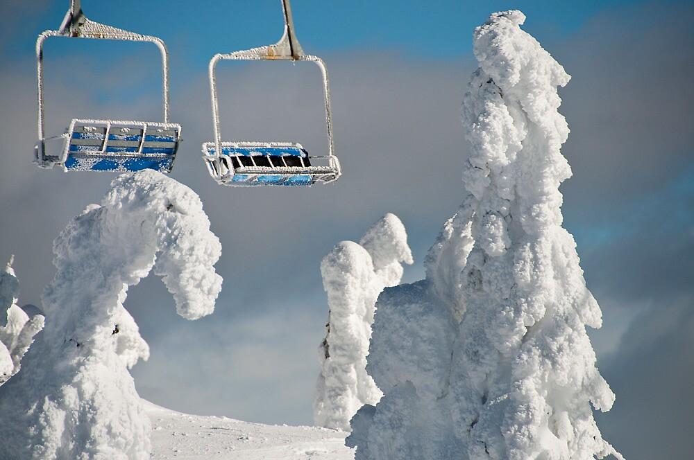Frozen Chairs by Kalpesh Patel