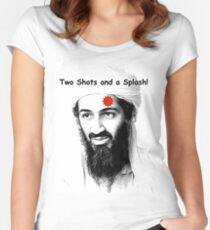 Bin Laden is DEAD!  :) Women's Fitted Scoop T-Shirt