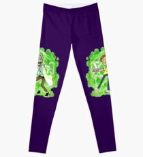 The Rickest Rick and the Mortiest Morty Leggings