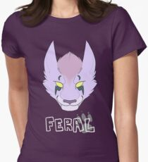 Proud to be Feral (Nightelf) Women's Fitted T-Shirt
